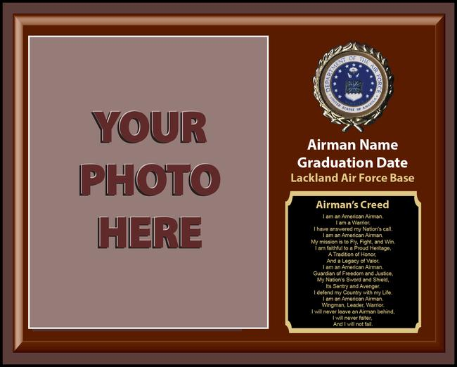 Airmans creed plaque lacklandshirtshop airmans creed plaque altavistaventures Images