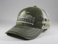Structured Camo Accent Mesh Back Cap