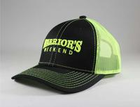 Structured 3D Mesh Back Cap - Neon Yellow