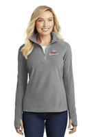 Ladies Microfleece 1/2 Zip Pullover