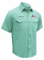 Logo and Personalization Micropoly Fishing Shirt