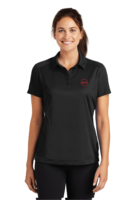 Women's Nike Pebble Texture Polo - Black