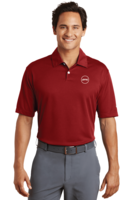 Men's Nike Pebble Texture Polo - Red