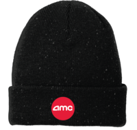 New Era Black Speckled Beanie
