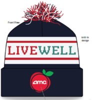 Custom Knit LiveWell Beanie
