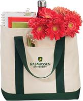 Two-Tone Shopping Tote $19