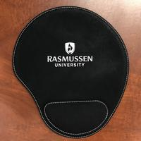 Leather Mousepad with Wrist Pad $13