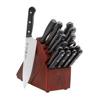 J.A. Henckels Solution 18PC Knife Block Set
