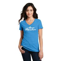 Women's District Perfect Blend V-Neck Tee - $20 - Turquoise