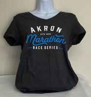 Women's District Perfect Blend V-Neck Tee - $20 - Charcoal