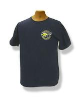 Gildan 100% Navy Blue Cotton Short Sleeve T-Shirt